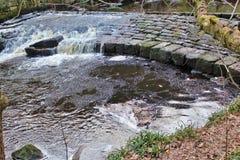 Βράχοι Hardcastle, δύση Yorskhire Στοκ Εικόνες