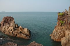Βράχοι Koh Chang Ταϊλάνδη Στοκ Εικόνα