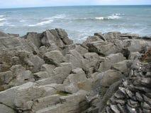 Βράχοι Punakaiki Στοκ εικόνα με δικαίωμα ελεύθερης χρήσης