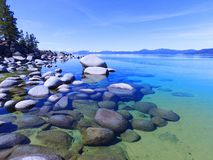Βράχοι Tahoe Στοκ φωτογραφία με δικαίωμα ελεύθερης χρήσης