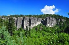 Βράχοι Teplicke Στοκ εικόνες με δικαίωμα ελεύθερης χρήσης