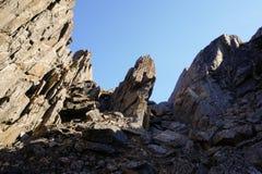 Βράχοι tundra Στοκ Φωτογραφία