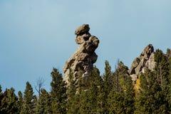 Βράχος δάχτυλων στοκ εικόνα με δικαίωμα ελεύθερης χρήσης