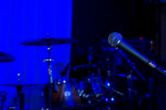 Βράχος ή υπόβαθρο συναυλίας τζαζ Στοκ φωτογραφία με δικαίωμα ελεύθερης χρήσης