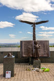 Βράχος 9/11 αετών μνημείο Στοκ Εικόνες