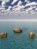 βράχος ακτών Στοκ εικόνα με δικαίωμα ελεύθερης χρήσης