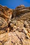 βράχος απότομων βράχων Στοκ Φωτογραφίες