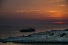 Βράχος ασβεστόλιθων, S ` Archittu Di Santa Caterina, Σαρδηνία, Ιταλία Στοκ φωτογραφία με δικαίωμα ελεύθερης χρήσης