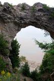 Βράχος αψίδων του νησιού Mackinac Στοκ φωτογραφία με δικαίωμα ελεύθερης χρήσης