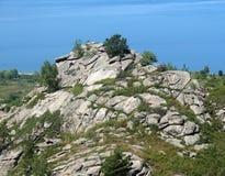 Βράχος βασαλτών στοκ εικόνα με δικαίωμα ελεύθερης χρήσης