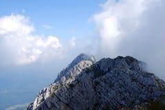 βράχος βουνών Στοκ Εικόνα