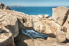 Βράχος γεφυρών Gapanda στην ακτή του Άλμπανυ, Αυστραλία στοκ εικόνες