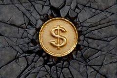 Βράχος δολαρίων Στοκ φωτογραφία με δικαίωμα ελεύθερης χρήσης
