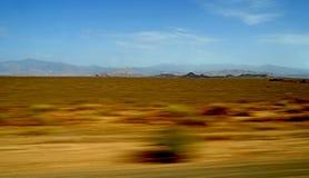 Βράχος ερήμων στα βουνά ατλάντων στο Μαρόκο Στοκ Εικόνες