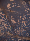 βράχος εφημερίδων Στοκ εικόνα με δικαίωμα ελεύθερης χρήσης