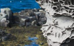 βράχος ηφαιστειακός Στοκ Εικόνες