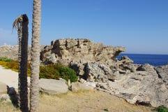 Βράχος θάλασσας τοπίων στοκ φωτογραφίες με δικαίωμα ελεύθερης χρήσης