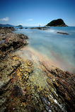 βράχος λιμνών Στοκ εικόνα με δικαίωμα ελεύθερης χρήσης