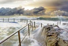 βράχος λιμνών στοκ εικόνες