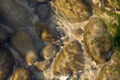 βράχος λιμνών Στοκ Εικόνα