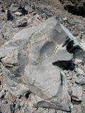 Βράχος και λάβα ηφαιστείων Στοκ Εικόνες