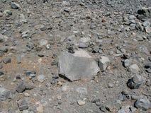 Βράχος και λάβα ηφαιστείων Στοκ φωτογραφία με δικαίωμα ελεύθερης χρήσης