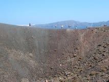 Βράχος και λάβα ηφαιστείων Στοκ Φωτογραφίες