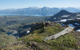 βράχος και βουνά Στοκ Εικόνα