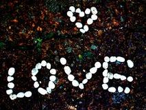 Βράχος καρδιών Στοκ εικόνα με δικαίωμα ελεύθερης χρήσης