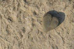 Βράχος καρδιών Στοκ Εικόνα