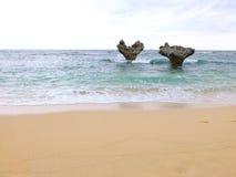 Βράχος καρδιών Kouri Στοκ Εικόνα