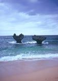 Βράχος καρδιών Kouri Στοκ φωτογραφία με δικαίωμα ελεύθερης χρήσης