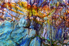 βράχος κατασκευασμένος Στοκ εικόνα με δικαίωμα ελεύθερης χρήσης