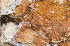 βράχος κατασκευασμένος Στοκ Φωτογραφίες
