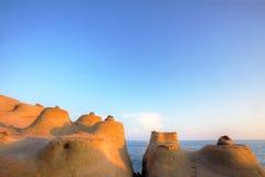 Βράχος κεριών Στοκ φωτογραφίες με δικαίωμα ελεύθερης χρήσης