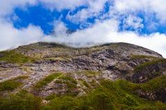 Βράχος κοντά σε Trollstigen - τη Νορβηγία στοκ φωτογραφία