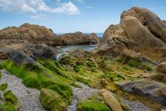 βράχος λιμνών Στοκ Φωτογραφίες