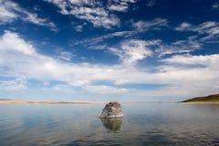 βράχος λιμνών 2 abert Στοκ Εικόνα