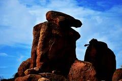 Βράχος με το λιοντάρι σε το Στοκ φωτογραφία με δικαίωμα ελεύθερης χρήσης