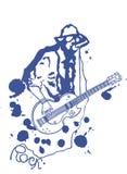 βράχος μουσικών Στοκ φωτογραφία με δικαίωμα ελεύθερης χρήσης