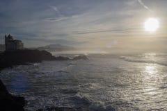 Βράχος Μπιαρίτζ στοκ εικόνα με δικαίωμα ελεύθερης χρήσης