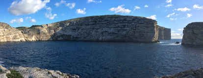 Βράχος μυκήτων στον κόλπο Dwejra Στοκ φωτογραφία με δικαίωμα ελεύθερης χρήσης