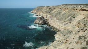 Βράχος νησιών σε Kalbarri φιλμ μικρού μήκους