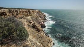 Βράχος νησιών σε Kalbarri NP απόθεμα βίντεο
