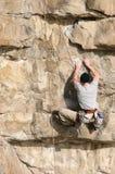 βράχος ορειβατών στοκ εικόνες