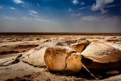 Βράχος & ουρανός Στοκ Εικόνες