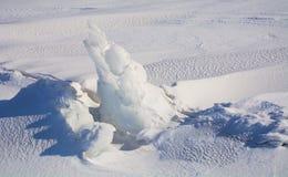 Βράχος πάγου Στοκ Εικόνες