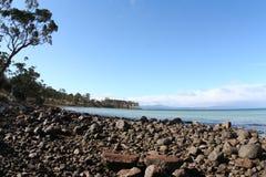 βράχος παραλιών Στοκ Εικόνες
