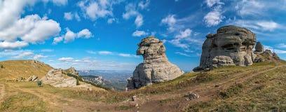 Βράχος παρόμοιος με ένα sphinx στοκ εικόνα με δικαίωμα ελεύθερης χρήσης
