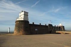 βράχος περκών οχυρών Στοκ Εικόνες